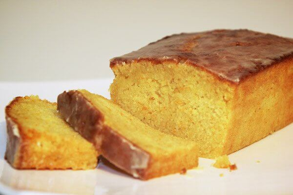 Glazed orange pound cake | Shelf5
