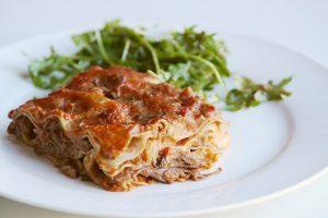 Short rib and porcini mushroom lasagne