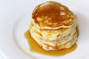 Buttermilk-yogurt pancakes