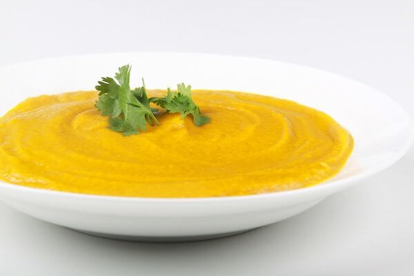 Pumpkin soup from the Vitamix