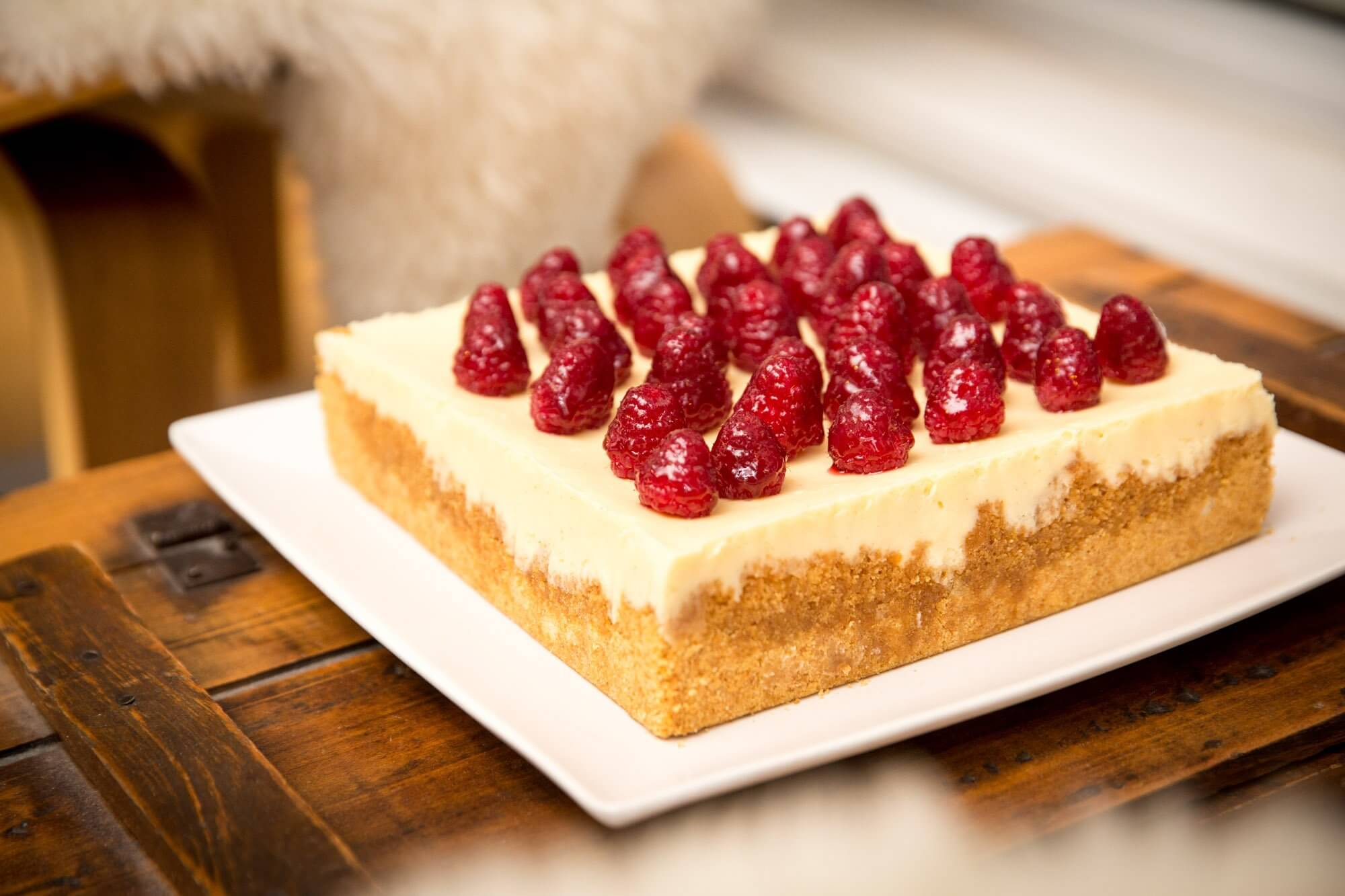 Raspberry Chambord Cake
