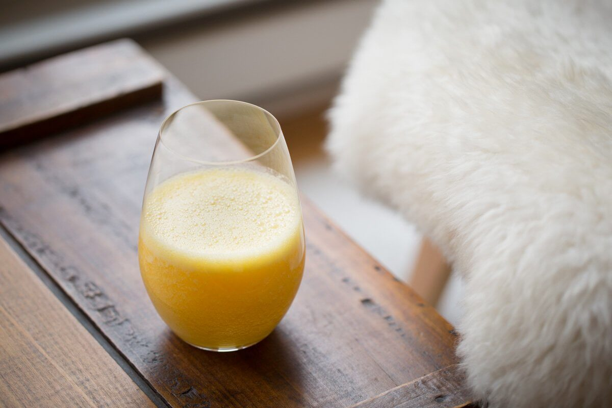 Vitamix orange juice